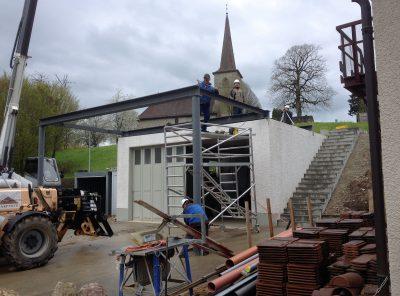 Structure métallique pour habitation