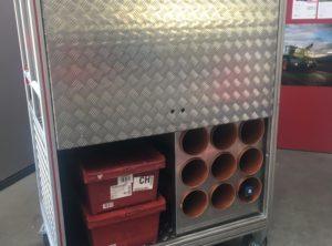 Fabrication complète module pompiers