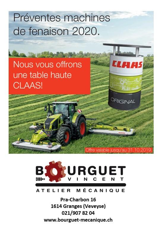 Claas – Promotions Fenaison 2020