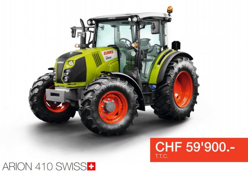 Claas – Action Claas Arion 410 Swiss