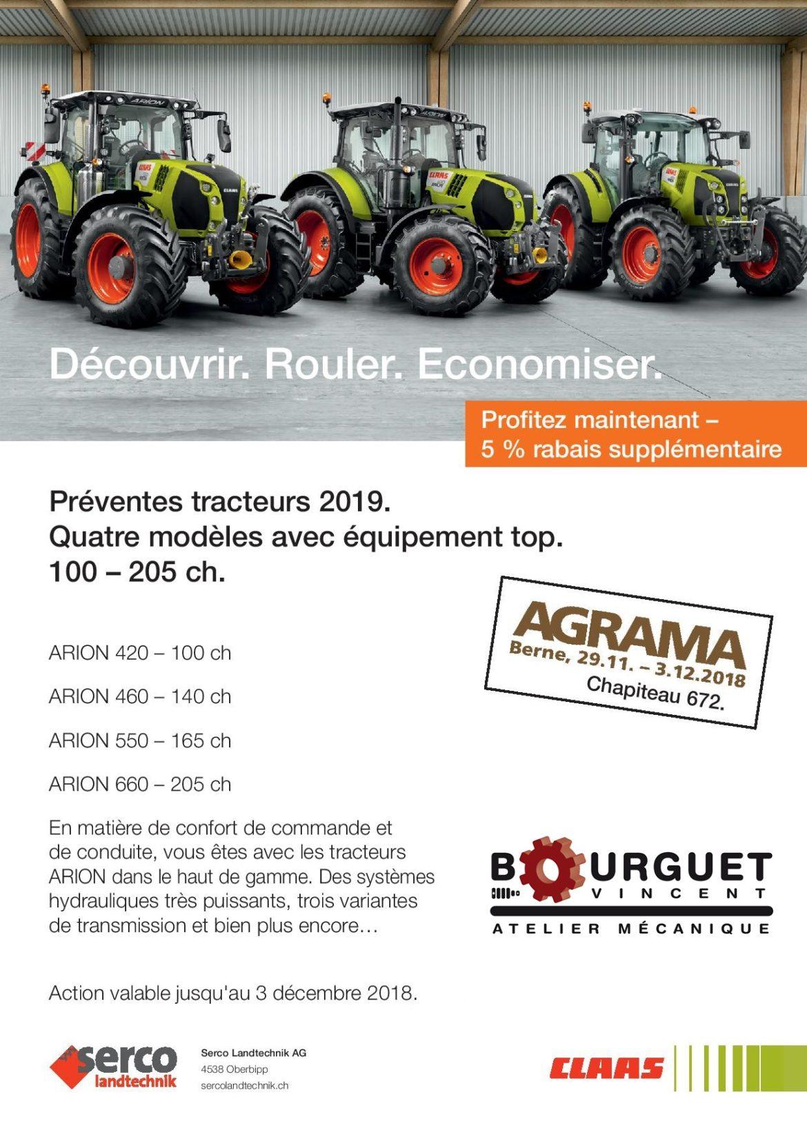 Action préventes tracteurs 2019
