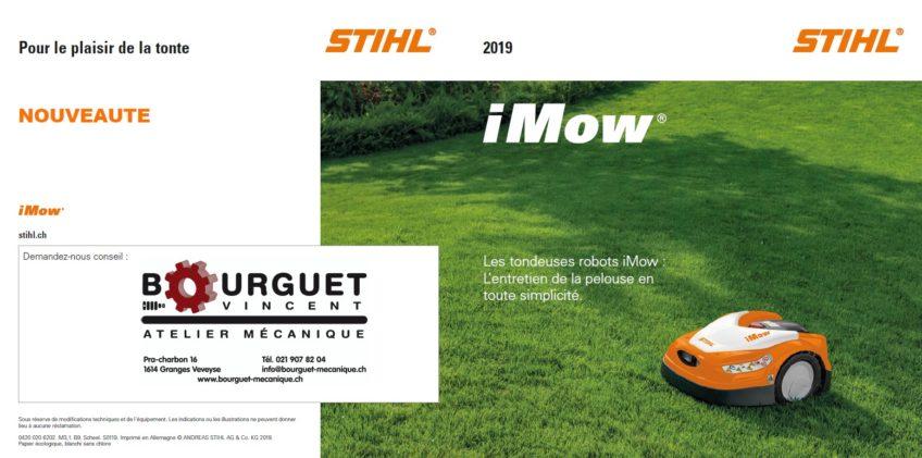 Nouveaux robots STIHL – iMow