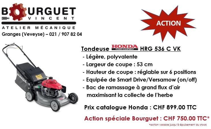 Action spéciale Honda