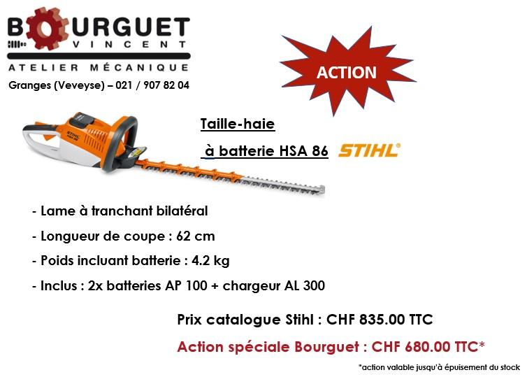 Action spéciale Stihl